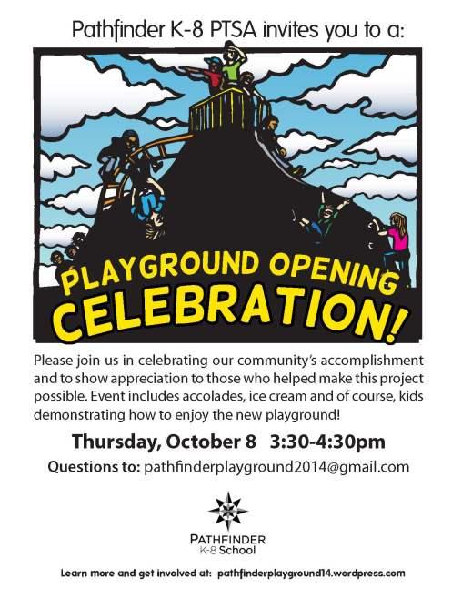 Playground celebration